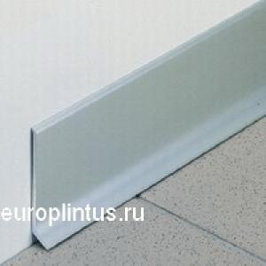 Плинтус алюминиевый 6см, 2,5 метра. Транспортная упаковка.
